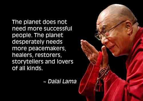 dalai lama planet need